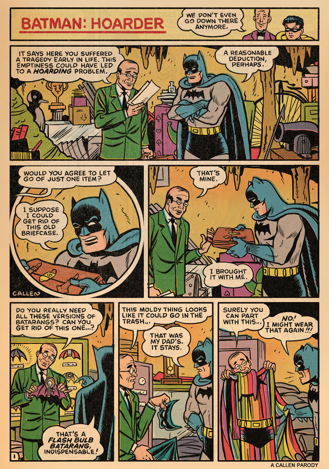 Bat hoarding