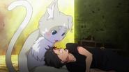 Subaru and Pack - Re Zero Anime BD - 1
