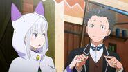 Emilia and Subaru