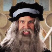 Link as Leonardo da Vinci