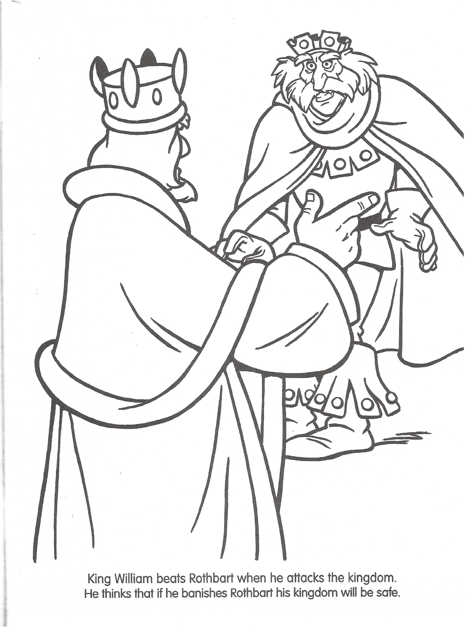 Swan princess coloring pages - File Swan Princess Official Coloring Page 6 Png