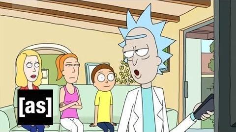 Sneak Speak Rixty Minutes Rick and Morty Adult Swim