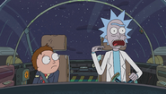 S1e6 morty and rick in ship