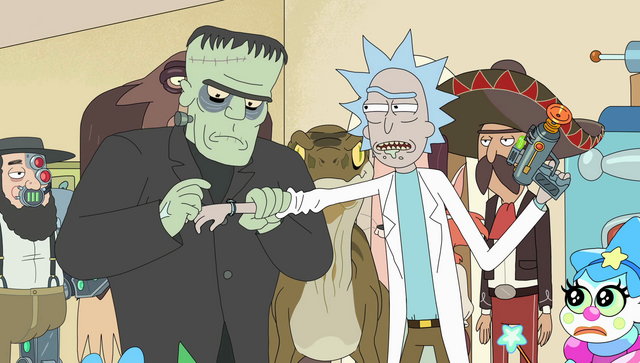 File:S2e4 frankie messing with rick's watch.png