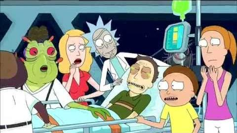 Rick and Morty Adult Swim Promo - Interdimensional Cable 2 Tempting Fate - Episode 8 Season 2 HD