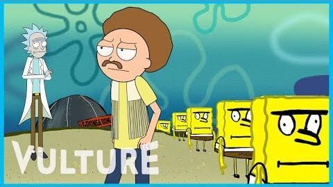 Rick and Morty x Vulture A Trip to 'Spongebob Universe Show'