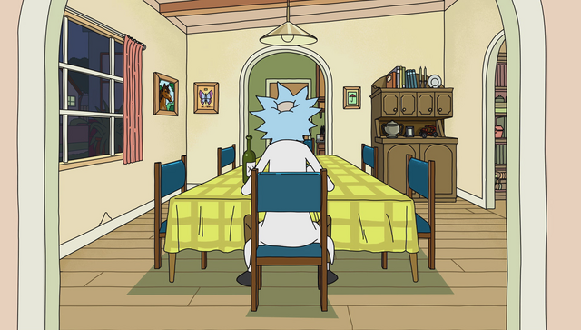 File:S1e9 lonely rick eating dinner.png