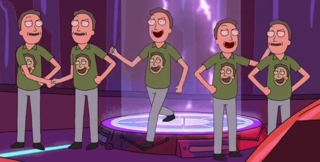 "Image result for ""jerry smith"" rick and morty"