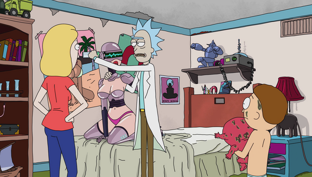 File:S1e7 rick turns off robot.png