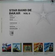Star Band Vol 6 back