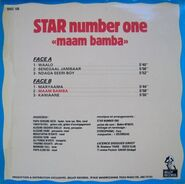 Star NumberOne Maam Back
