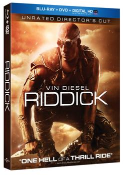 Riddick blu-raydvd