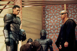 Vaako confronts Riddick