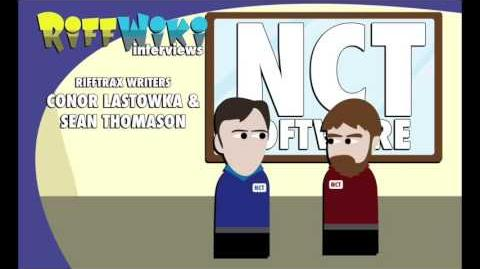 RiffWiki Interviews Conor Lastowka & Sean Thomason - RiffTrax Writers-0