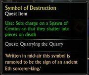 Symbol of Destruction