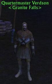 Quartermaster Verdson