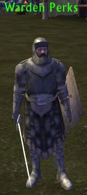 Warden Perks