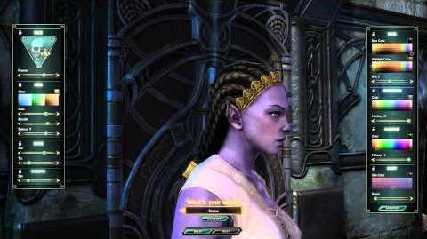 Bahmi Female Character Customization