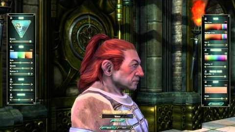 Dwarf Male Character Customization - CBT