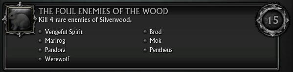 The Foul Enemies of the Wood Dark