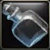 Empty Crystal Flask