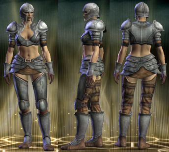 Tin Set Female
