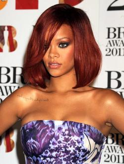 Rihanna at 2011 Brit Awards