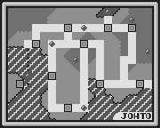 Johto - map