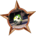 Bronze Badge Scaredy Bird