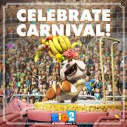 Celebrate Carnival in Rio