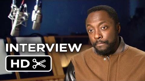 Rio 2 Interview - Will i Am (2014) - Animated Sequel Movie HD