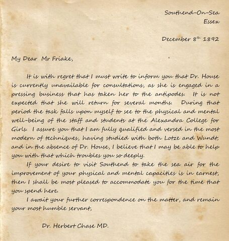 File:Letter to Friake from Dr Chase.jpg
