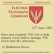 Telegram to Friake - Their Timeline