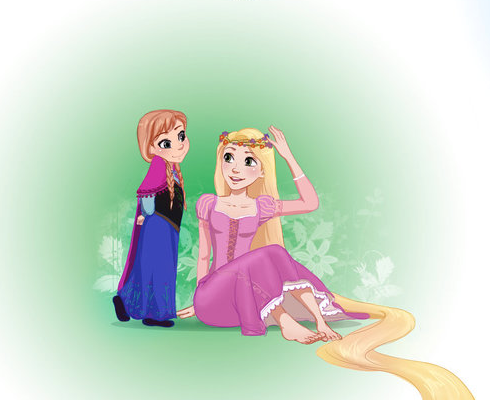 File:Rapunzel and Anna.png