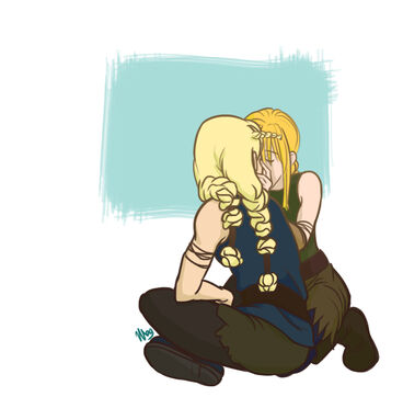 Httyd kiss by fortheloveofpizza-d4q7dyb