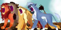 Lion King AU