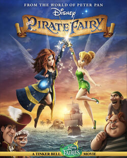 Pirate Fairy Art Poster