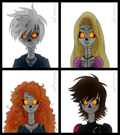 The big four au book 1 of life by frostsentry150-d8kh32b