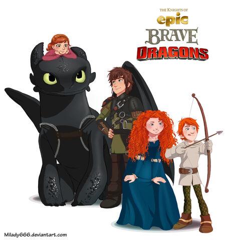 File:The knights of epic brave dragons by milady666-d6btlvx.jpg