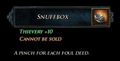 LI Snuffbox Stats