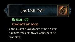 LI Jaguar Paw Stats