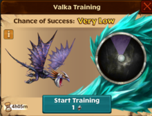 Battle Deadly Nadder Valka First Chance