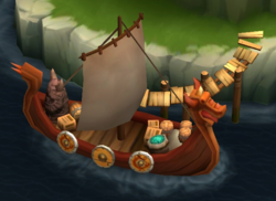 Trader Johann's Ship