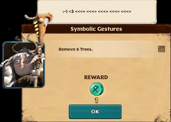 Symbolic Gestures