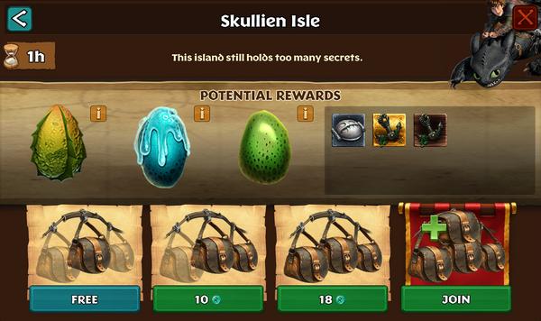 Skullien Isle