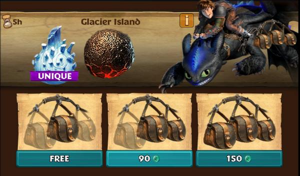 Glacier Island