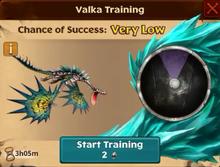Battle Monstrous Nightmare Valka First Chance