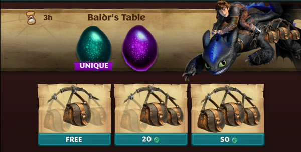 Baldr's Table