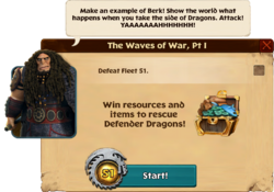 The Waves of War, Pt I