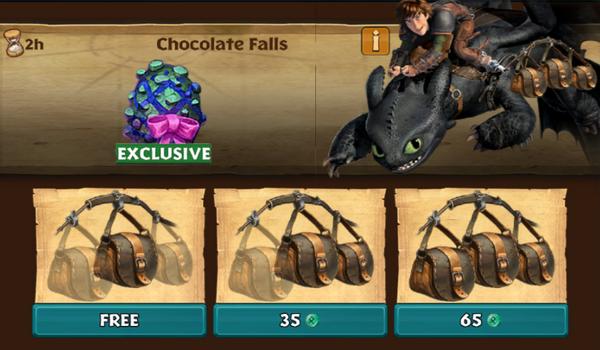 Chocolate Falls (Basket Case)